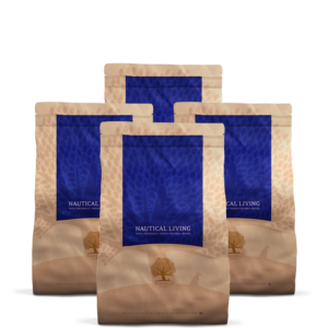 4 x 3KG ESSENTIAL NAUTICAL LIVING SMALL SIZE